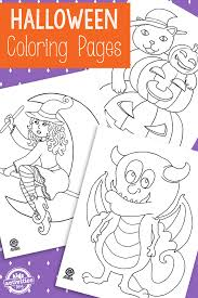 Free Printable Halloween Coloring Pages And Activities Kids