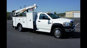 2008 DODGE RAM 5500 MECHANICS TRUCK CRANE UTILITY SERVICE TRUCK FOR ...