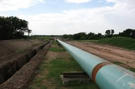 45 Mile Trunkline Pipeline