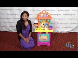 dora the explorer sizzling surprises kitchen from fisher price