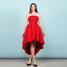 Black Satin Bridesmaid Dress A Line Sweetheart Black Hi Lo Formal