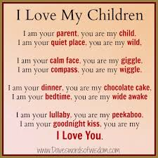 to my sons with love poems