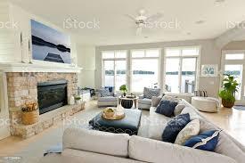 modern living room home interieurdesign mit kamin und fernseher stockfoto und mehr bilder architektonisches detail
