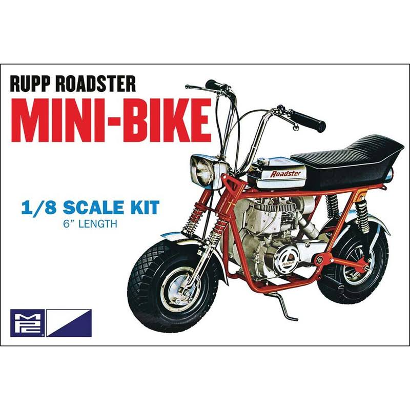 MPC 849 Rupp Roadster Mini-Bike 1:8 Scale Plastic Model Kit