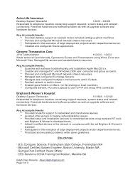 Technical Support Specialist Resume Sample Mission After 1 Network Related Post