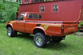 100 Cal Mini Truck Rare Rides A Toyota Pickup From 1983 Which Is Extraclean And Rust