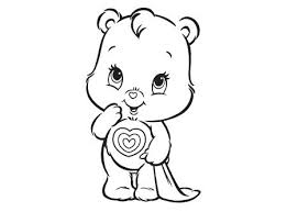 Amusing How To Draw A Care Bear Best Of Bears Coloring Pages Kids