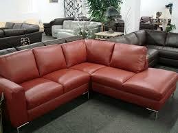Italsofa Red Leather Sofa by Natuzzi Sectional Sofa Microfiber Iammyownwife Com