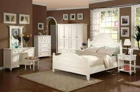 Beautiful Full Size Bedroom Furniture Scheme Home Interior Design