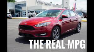 1 0L 3 Cylinder Ford Focus Real World MPG and Test Drive Review
