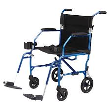 Transport Chair Or Wheelchair by Medline Ultra Lightweight Transport Chair Blue Target