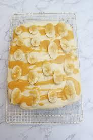 bananenkuchen mit karamell frischkäse creme
