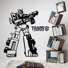 Wall Mural Decals Vinyl by Transformers Wall Decals Roselawnlutheran