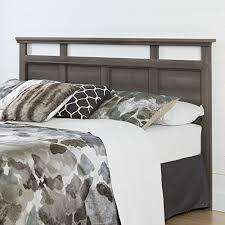 Amazon Canada King Headboard by South Shore Furniture Versa Headboard 78 U0027 King Gray Maple
