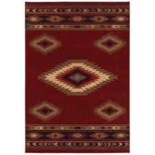 Rustic Lodge 10 X 13 Area Rugs Rugs The Home Depot