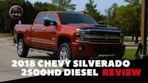 100 Chevrolet Diesel Truck The 2018 Silverado 2500HD Duramax Is A Tough