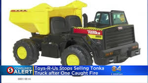 Toys' R Us Stops Selling Tonka Truck After Fire « CBS Miami Garbage Trucks Tonka Toy Dynacraft Recalls Rideon Toys Due To Fall And Crash Hazards Cpscgov Truck Videos For Children Bruder Ross Collins Students Convert Bus Into Local News Toyota Made A For Adults Because Why Not Gizmodo Ford Concept Van Toy Truck Catches Fire In Viral Video Abc13com Giant Revs Up Smiles At The Clinic What Its Like To Drive Lifesize My Best Top 6 Tonka Inc Garbage Truck Police Car Ambulance Cstruction Surprise As Tinys With Disney Cars