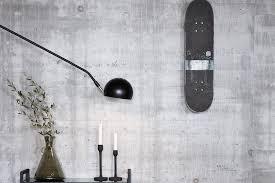 hã bsch black brass wall light â d40studio