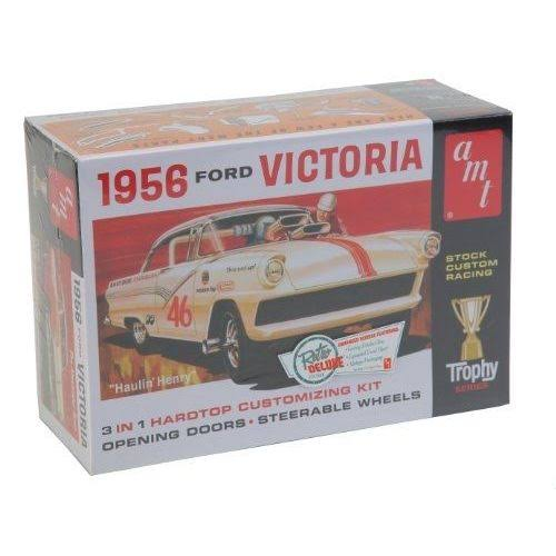 AMT 1:25 Scale 1956 Ford Victoria Plastic Model Kit