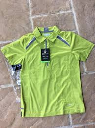 100 Desjardins Elegance On Tour Engineered Elegance Dry Fit Polo Shirt Size S New In Original Package And With Tags
