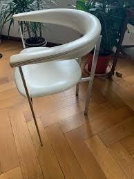 5 designstühle weiß stuhl esszimmer sessel polsterstuhl