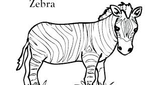 Animal Coloring Pages Printable Wild Animals Cute
