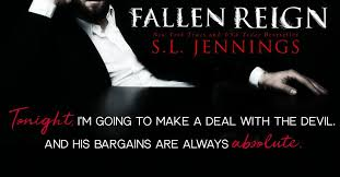Fallen Reign Is The Final Installment To SL Jennings Paranormal Romance Series SE7EN Sinners AVAILABLE NOW Amznto 2GimGcJ Or FREE In KU