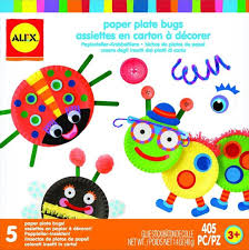 ALEX Toys Early Learning Paper Plate Bugs Little Hands