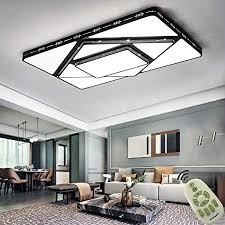 dimmbar led deckenleuchten ultra dünn 78w modern deckenle energiespar licht moderner minimalistischer für wohnzimmer küche 3000 6500k schwarz farbe