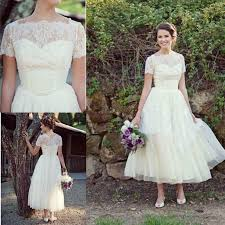 cheap spring short beach lace wedding dresses plus size with short