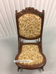 Antique Vintage Wooden Folding Rocker Rocking Chair Tapestry ... Us 3690 Vintage Fniture Modern Wood Rocking Chair For Aged People Japanese Style Recliner Easy With Armrest Pulletout Ftstoolin Garden Antique Vintage Wood Folding Rocking Chair Rocker Floral Antique Folding Antique Appraisal Instappraisal Pair Of Rope Seat Chairs Splendid Comfortable Nursing Wooden Leather Armchair Vintage Wooden Folding Chair Victorian Upholstered Redwood Lawn Scdinavian Tapiovaara
