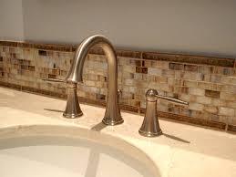 Glass Mosaic Tile Backsplash Bathroom A Kitchen Kitchen Cabinets