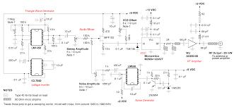Mobile cellphone jammer circuit diagram
