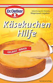 dr oetker käsekuchen hilfe german baked cheesecake aid 58g sachet 4000521130107 ebay