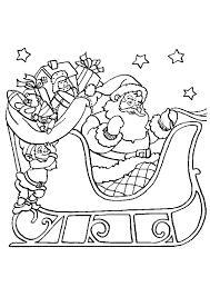 Dessin Traineau Du Pere Noel A Imprimer Excellent Dessin Pere Noel