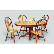 60 Inch Kitchen Table Sunset Trading Round Dining With Butterfly Leaf 60s Style And Chairs