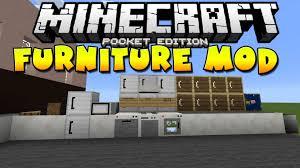 mcpe furniture mod more furniture in mcpe the furniture mod