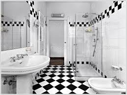 black white tile bathroom decorating ideas tiles home design