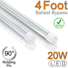 Non Shunted Lamp Holders Tombstones by 4ft T8 Led Tube Replacement For Fluorescent Tubes Htm Lighting