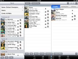 magic the gathering deck builder app for ipad