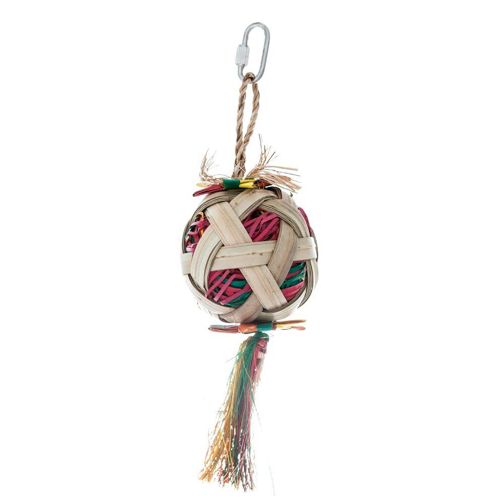 Hari Rustic Treasures Foraging Satellite Bird Toy, Small 1ct