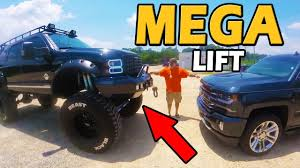HUGE LIFT!!! Ford Excursion 7.3L PowerStroke Diesel | Truck Central ...