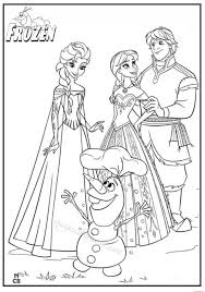 Gallery Of Printable Frozen Coloring Pages Best To Print Images Frabbi Me 11