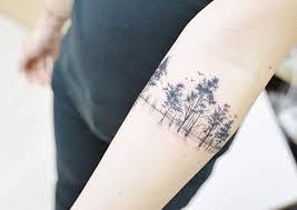 Treeline Armband Tattoo By Banul