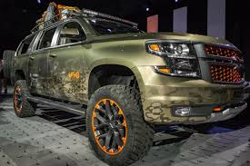Chevy X Luke Bryan Suburban Blends Pickup, SUV And UTV For Hunters ...