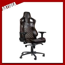 ^ Noblechairs EPIC Gaming Chair - Genuine Leather BROWN/BLACK | NBL-RL Noblechairs Epic Gaming Chair Black Npubla001 Artidea Gaming Chair Noblechairs Pu Best Gaming Chairs For Csgo In 2019 Approved By Pro Players Introduces Mercedesamg Petronas Licensed Epic Series A Every Pc Gamer Needs Icon Review Your Setup Finally Ascended From A Standard Office Chair To My New Noblechairs Motsport Edition The Most Epic Setup At Ifa Lg Magazine Fortnite 2018 The Best Play Blackwhite