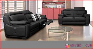 canapé convertible cuir center canape relax electrique cuir center 123510 canapé convertible cuir