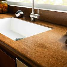 2 in solid surface countertop sle in cinnabar red solid