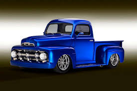 100 Ford F1 Truck How A 1951 Went From Farm To Vegas Show Star