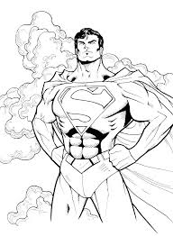 Superman Coloring Pages Free Online